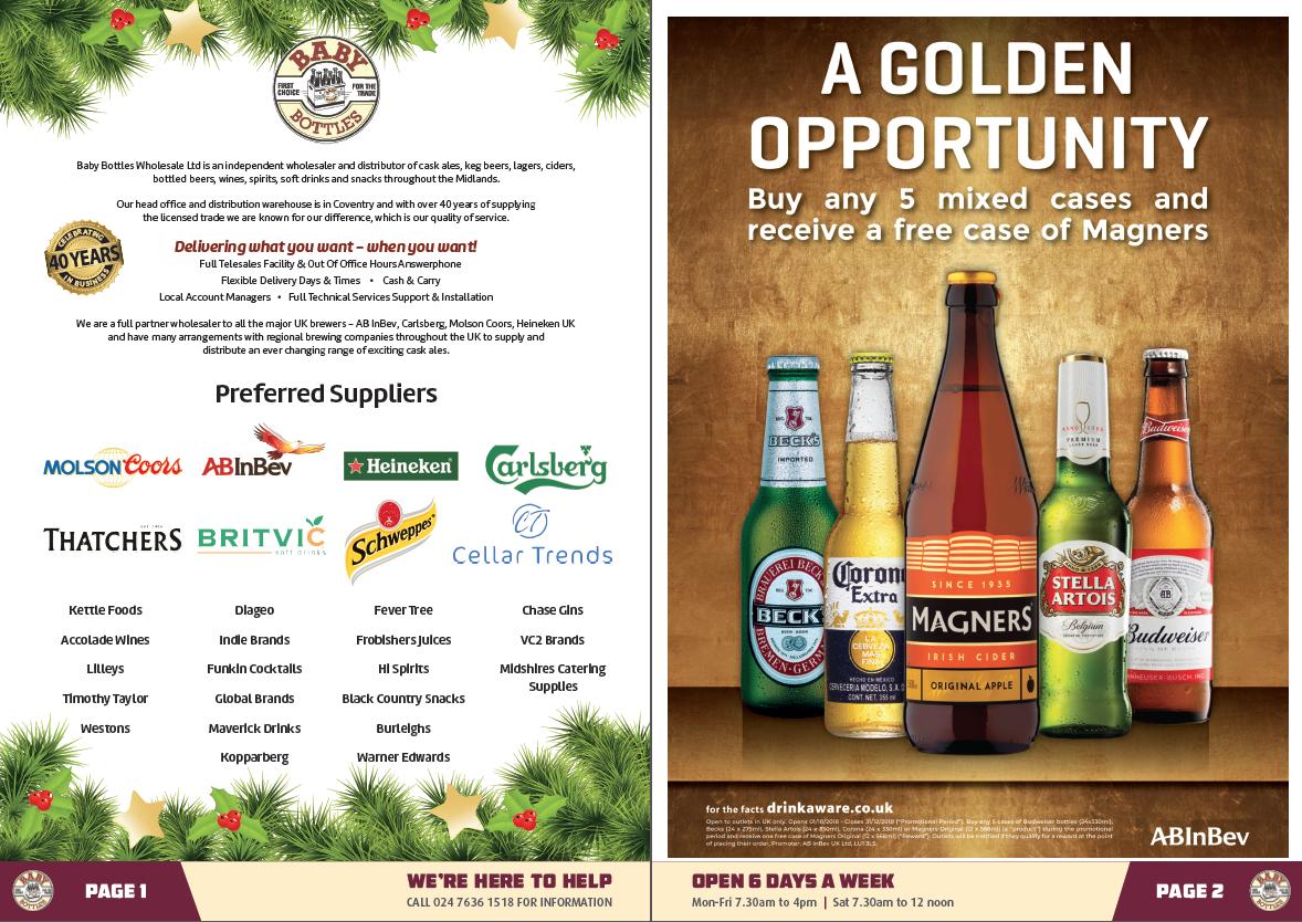 Offers brochures